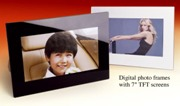 "7"" Digital Photoframe Standard"
