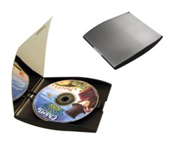 SILVER DOUBLE CD PRESENTATION CASE