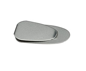 MATT SILVER MONEY CLIP  PLAIN