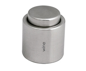 SS WINE STOPPER WITH LOCK
