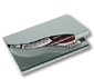 MSS + AL business card holder  TWO TONE WAVE