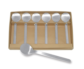 18/08 Tea Spoons X 6 In Box (13.3Cm)