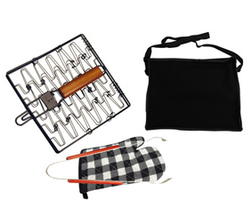 3Pcs Braai Set In Zip Up Carry Bag W