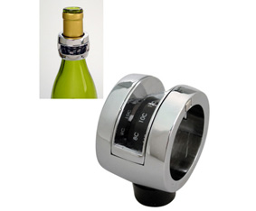 3 In 1 Silver And Black Wine Collar