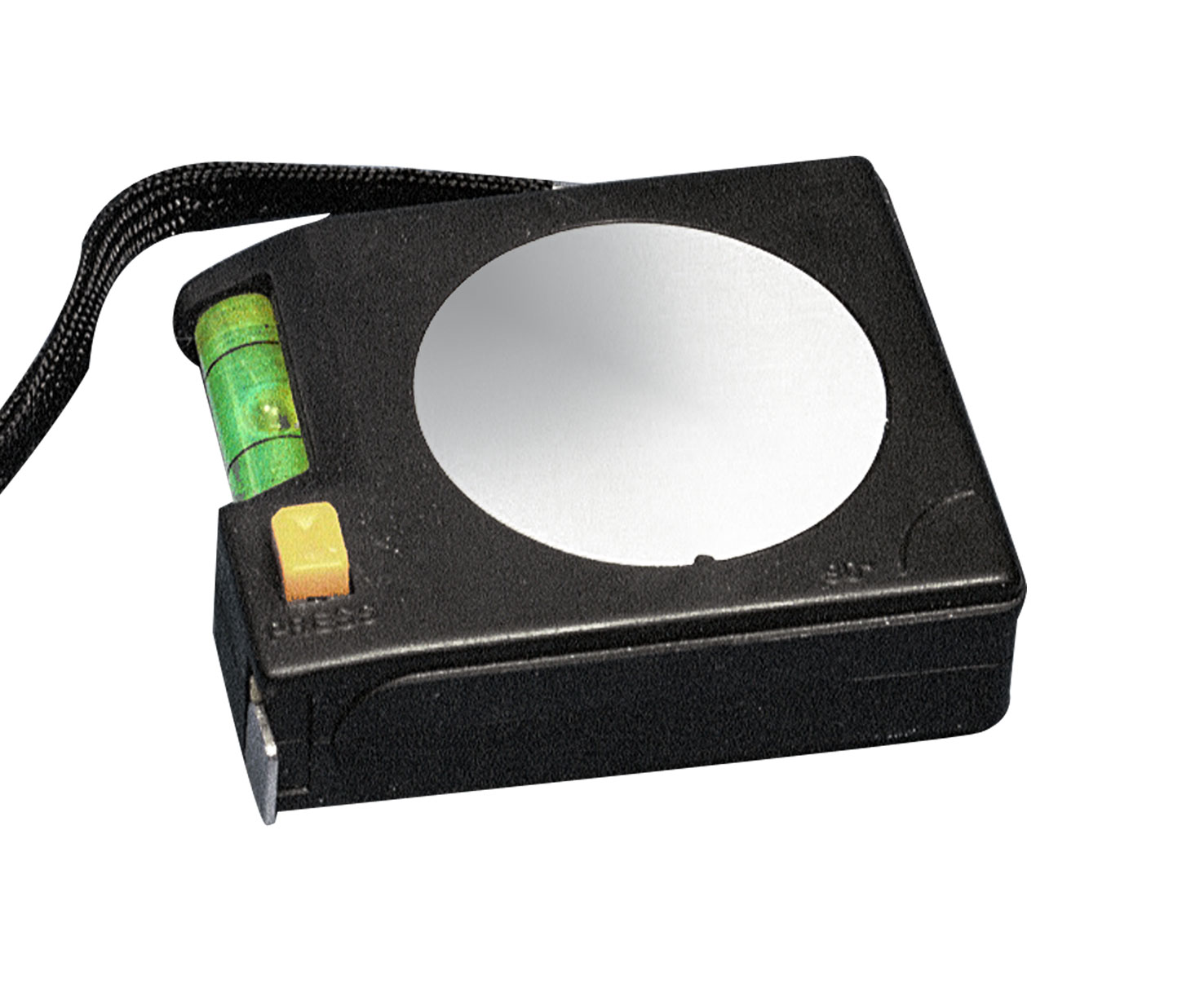 BLACK 2M TAPE MEASURE WITH SPIRIT LEVEL