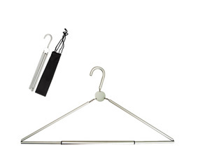 Aluminium Folding Hanger With Pouch
