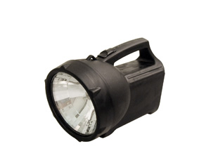 Black  Spot Light Torch With Handle