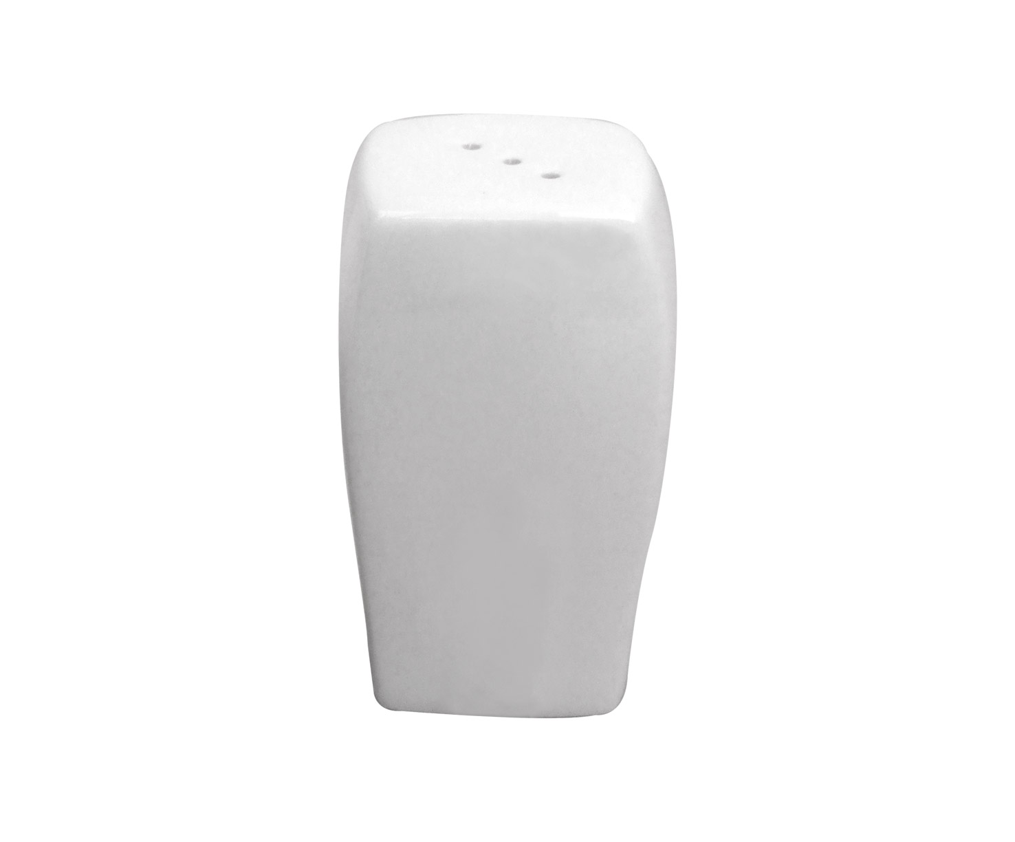 White Bone China  Salt Shaker (12 Pe