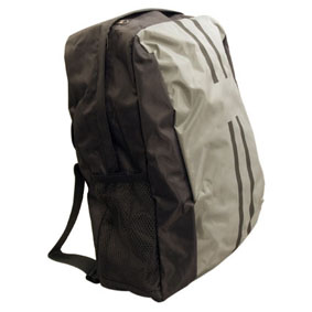 Black+Grey Backpack W/Shoulder Strap (40X16X32Cm)