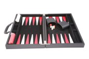 Executive games-backgammon set in pvc attache case