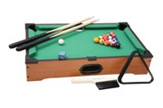 Table top-pool/billiards game packed in colour gift box