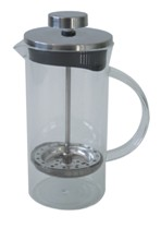 Glass And Stainless Steel Deluxe Coffee Plunger (350Ml)