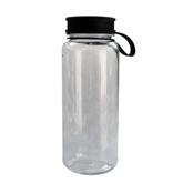 Transparent Water Bottle With Lid