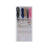 Pre-Threaded (6 Col) Sewing Kit In Plastic Case-Min. Order Qty 1