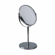 Chrome Pedestal Mirror With 3X Magnification (20Cm X 21Cm)