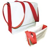 Natural Cotton Conference Bag - Size: 350*300*70mm - Min Order: