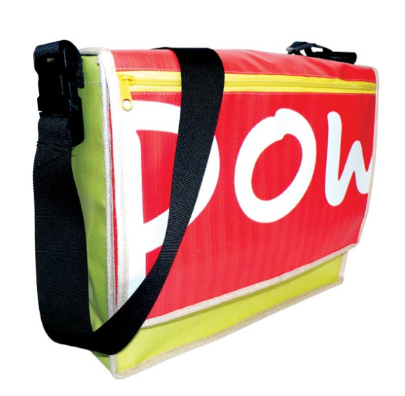 Recycled Banner Conference Bag (landscape) - Size: 380*300*120mm