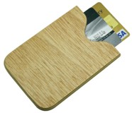 Bamboo Business Card Holder (105*75) - Min Order: 250 units