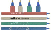 Recycled Paper Eco Pen - Plain - Min Order: 250 units