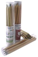 FSC Sustain Wood Colouring Pencils - Plain Pencils & Full Colour