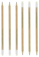 Sustainable Wood (FSC) Wooden Pencil - Plain - Min Order: 250 un