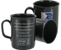 Recycled Plastic Mug - Printed 1 Colour - Min Order: 250 units