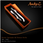 Andy C Emerge Range Cheese knife & butter spreader