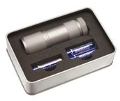 Led Torch In Metal Box