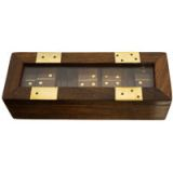 Games - Domino in Wooden Box