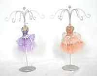 Sisters -Ballerina Jewellery Stand Pink