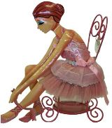 Sisters -Ballerina Make-up Holder