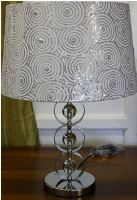 Lamp - Thompson (crystal + metal) - base only 30x60cmPlease note