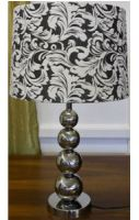 Lamp - Stallone (crystal + metal) - with shade J 30x58cmPlease n