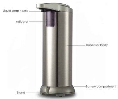 Sensor Desktop Soap/Sanitiser Dispenser - Min 25 units
