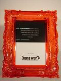 Photoframe Baroque Red sml 13x18cm  Min Order: 6