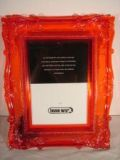 Photoframe Baroque Red LG A4  Min Order: 6
