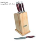 Assagai Steak Knife Block