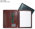 Adpel A4 Zipper Folder