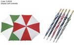 Golf Umbrella Striped