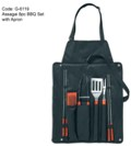 Assagai 8pc BBQ Set with Apron
