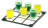 Tot Glass Tic Tac Toe Set - Naughts and Crosses