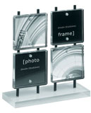 Retro photo frame and magnetic holder