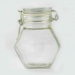Hexagon Jar Large 310Ml