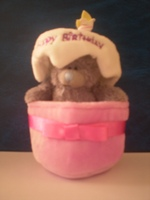 Tatty Teddy 3 Inch In Birthday Cake