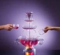 Light Up Party Beverage Fountain