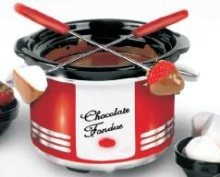 Retro Chocolate Heaven Fondue Kit
