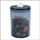 ROUND MONEY BOX OR TIP JAR