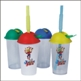 TUMBLER WITH CAP & STRAW