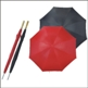 GOLF UMBRELLA WITH WHT WOODEN HANDLE