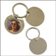 ROUND PHOTO FRAME KEYRING